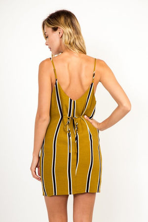 Morrison Striped Tank Dress