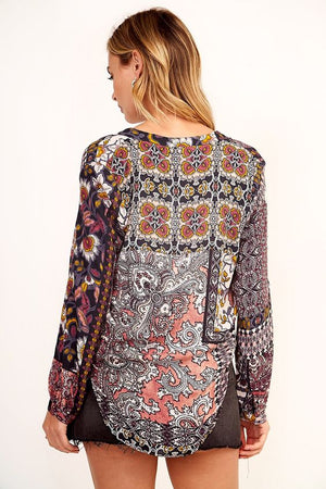 Call Me Paisley Blouse