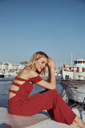 Set Sail Jumpsuit by Sage the Label
