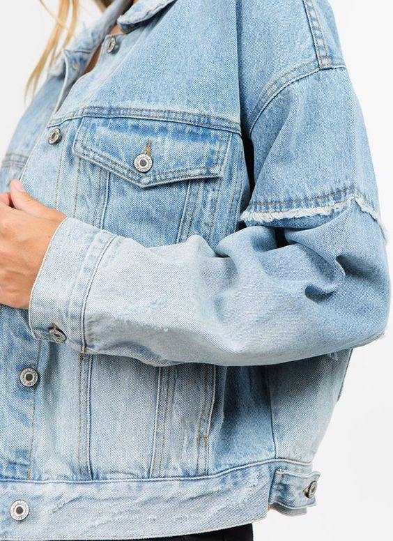On the Road Faded Denim Jacket