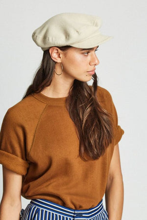 Natural Unstructured Cap by Brixton