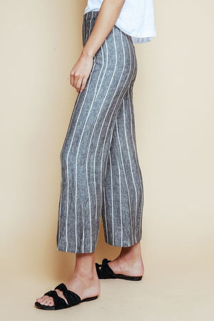 Milo Linen Striped Pants
