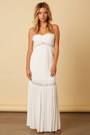 Strapless Barbados Maxi Dress
