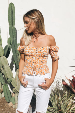 Izzie Floral Crop Top