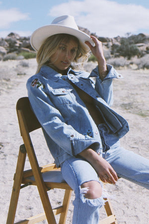 Sonora Embroidered Denim Jacket