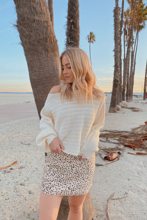 White Bristol Sweater