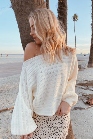 Bristol Ivory Sweater
