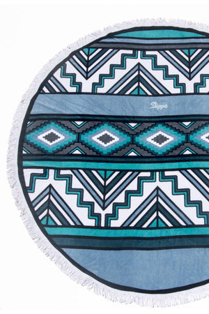Bahia Round Towel by Slippa Co.