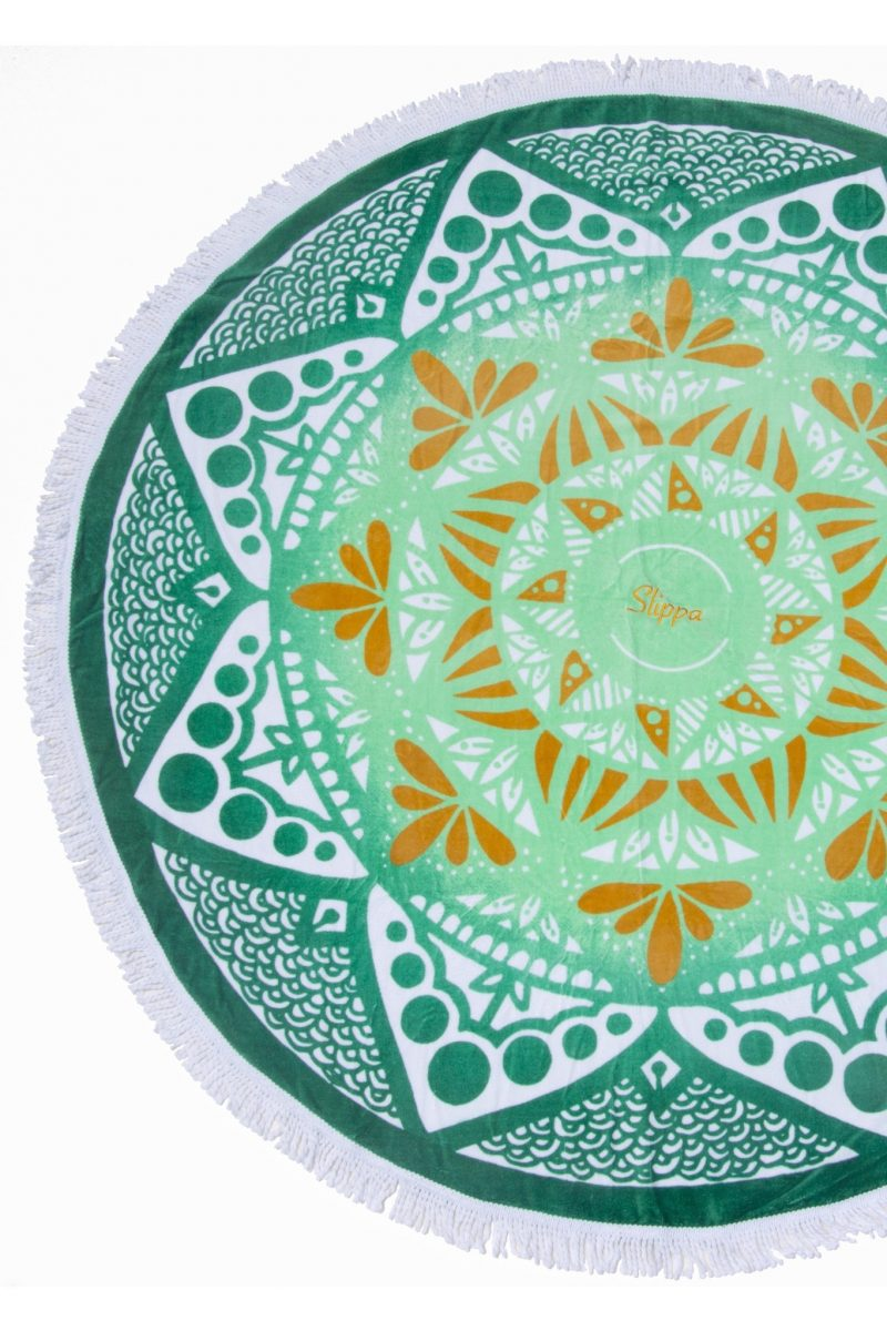 Cape Verde Round Towel by Slippa Co