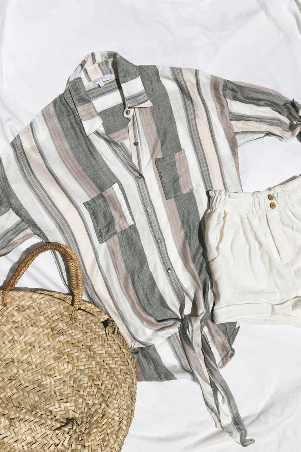 Camilla Striped Blouse