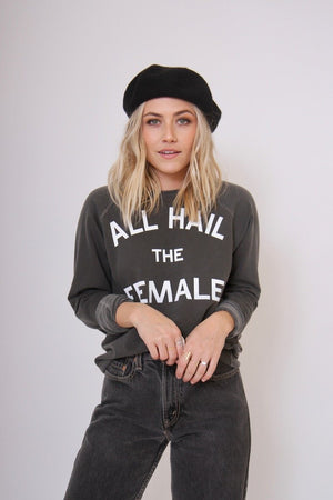All Hail the Female Sweatshirt by Hips and Hair