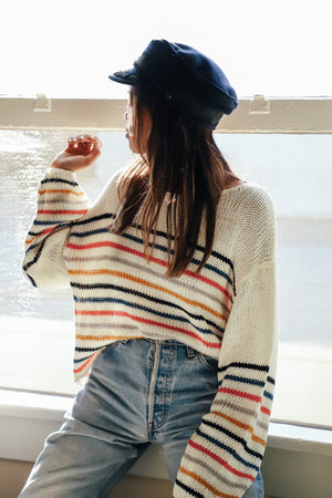 Abigail Striped Sweater by Lovestitch