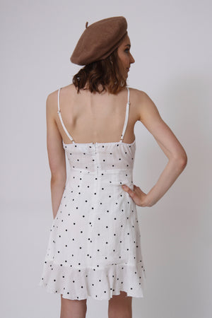 La Mer Polka Dot Dress