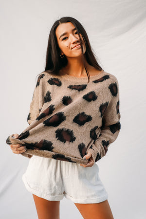Wild Heart Leopard Sweater