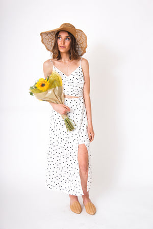 Bon Voyage Polka Dot Dress