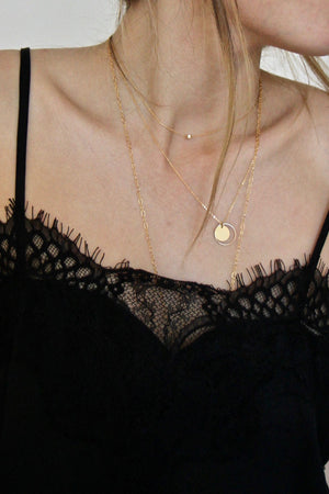 Gold Divine Choker by Marida Jewelry