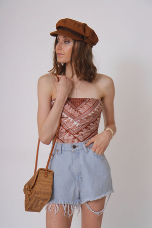 Hazel Bandana Top