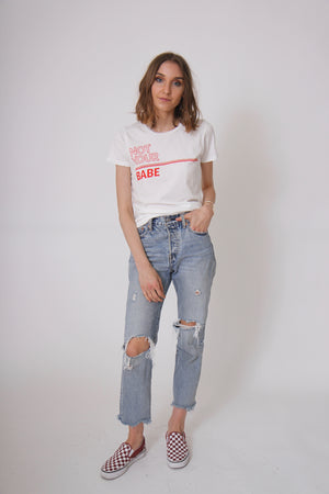 Not Your Babe Tee by Elison Rd.