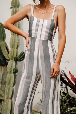 Camilla Striped Jumpsuit