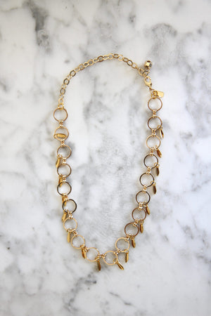 Gold Addison Choker by Vanessa Mooney