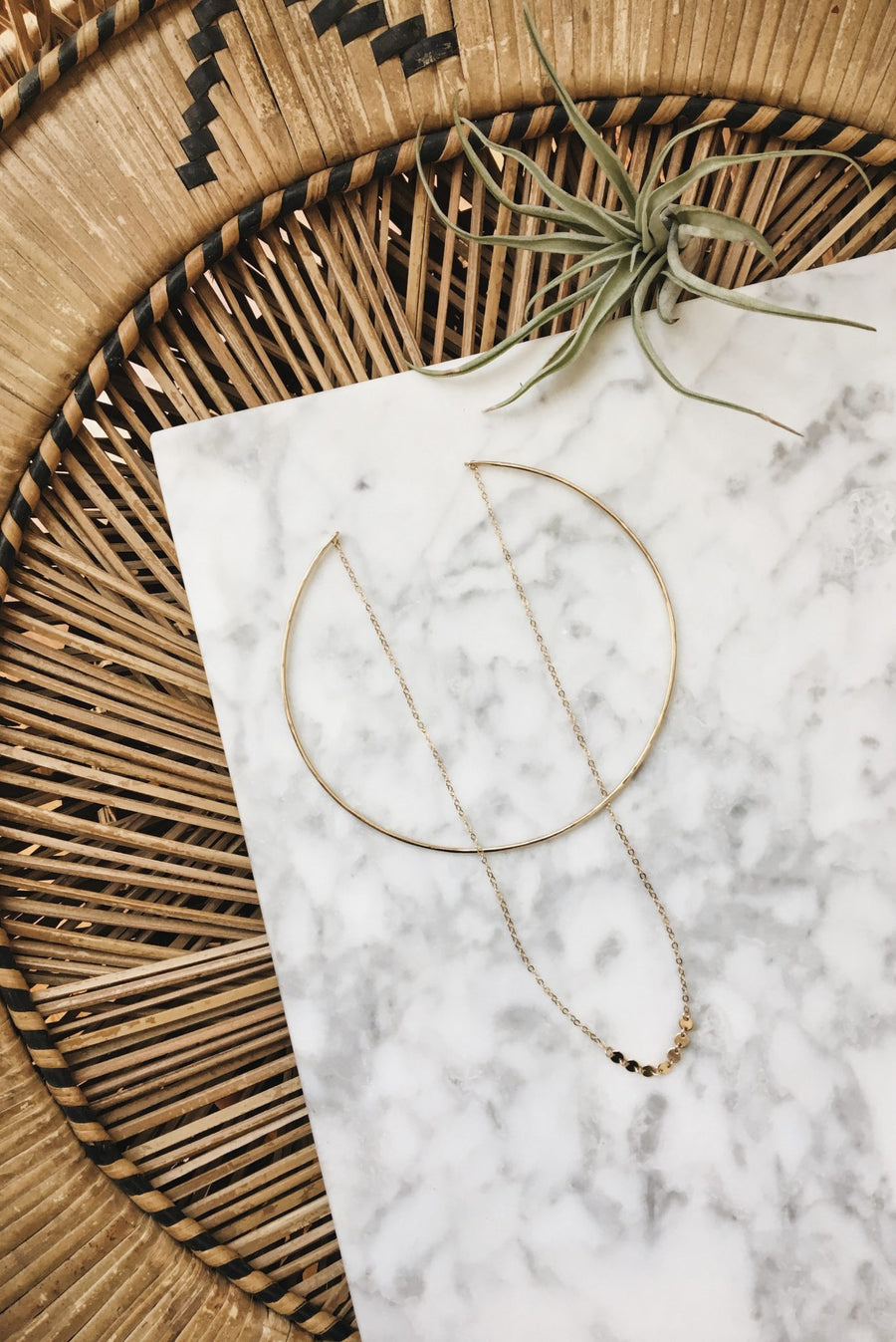 Gold Voyager Choker by Paradigm