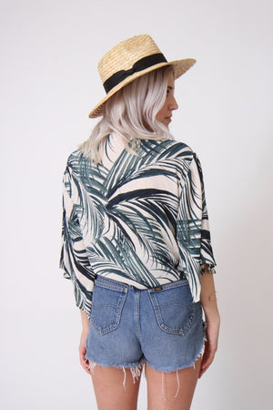 Palm Springs Wrap Blouse