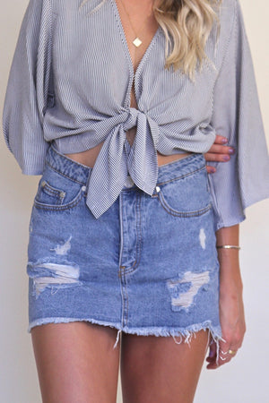 Payton Denim Skirt