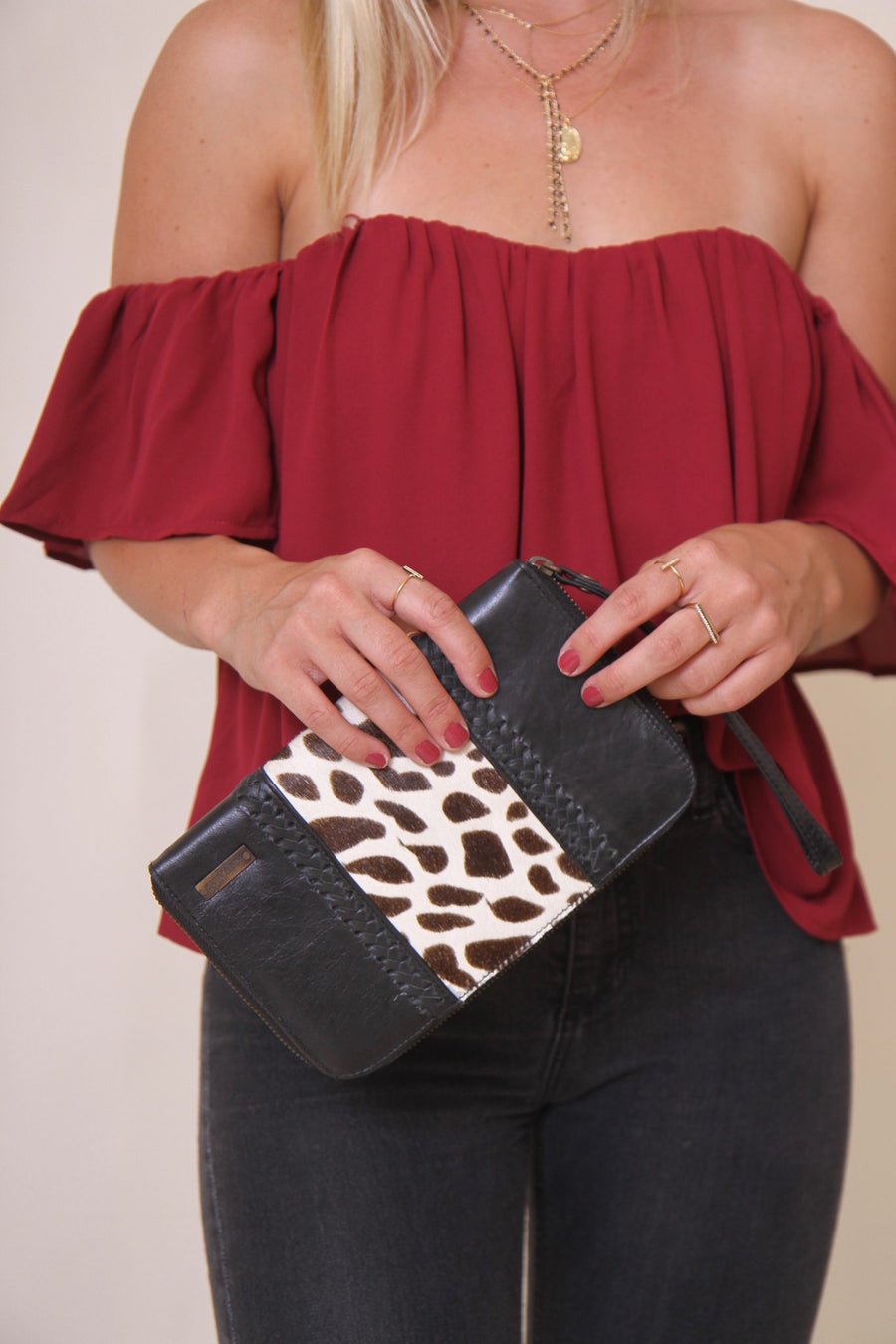 The Believer Pony Clutch by Kivari The Label