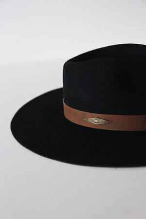 Rio Hat Black by Brixton