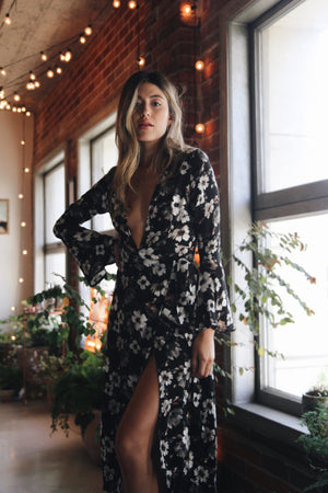 Madison Floral Maxi Dress