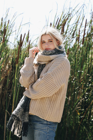 Beige Fleetwood Sweater