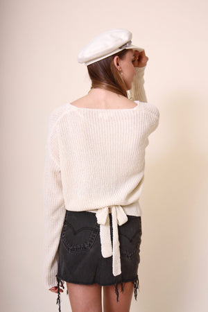 Bridget Tie Sweater