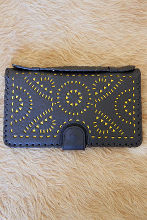 Black Mexicana Clutch by Cleobella