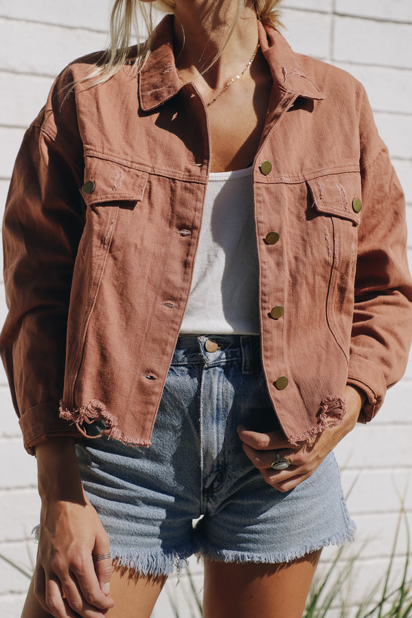 Delia Canyon Denim Jacket