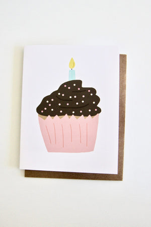 Cupcake Card Julie Ann Art