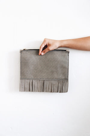Fringe Clutch by Tribe Alive