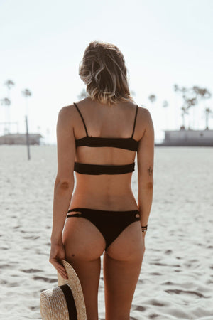 Night Sky Black/Nude Bottom by KOA Swim