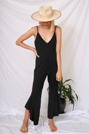 Flamingo Jumpsuit by Mink Pink