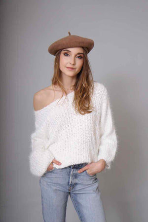 Skye Fuzzy Sweater