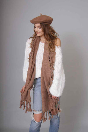 Fringe Scarf (3 Colors)