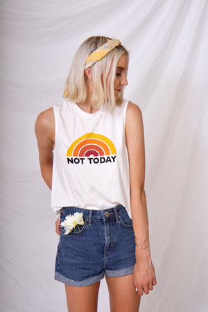 Not Today Tee  by MINKPINK
