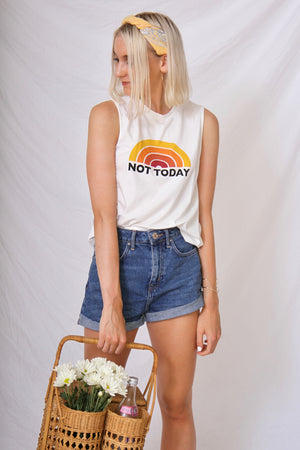 Not Today Tee by Mink Pink
