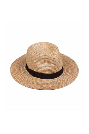 Spencer Straw Fedora by Lack of Color