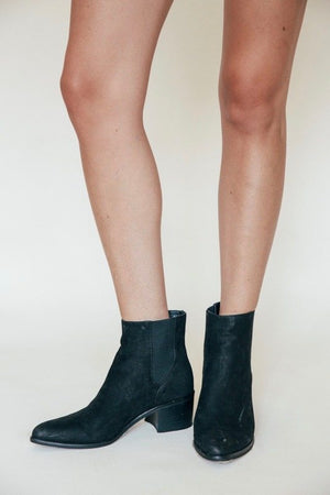 Black Nubuck Colbey Boots by Dolce Vita