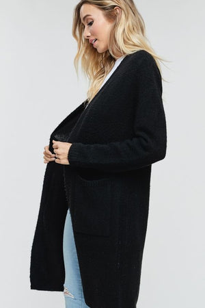 Molly Black Cardigan