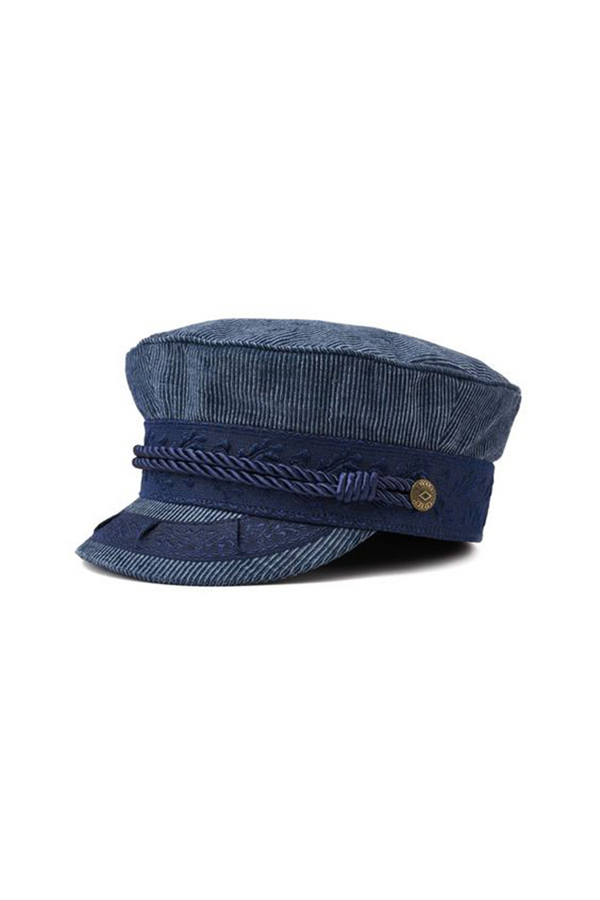 Blue Albany Cap by Brixton