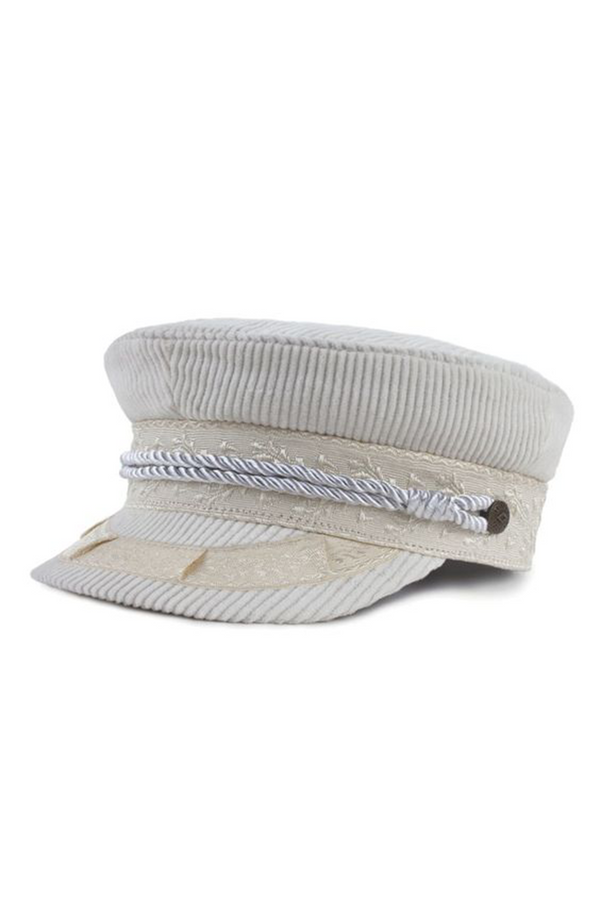 White Albany Cap by Brixton