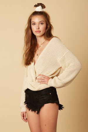 Alexis Twist Sweater