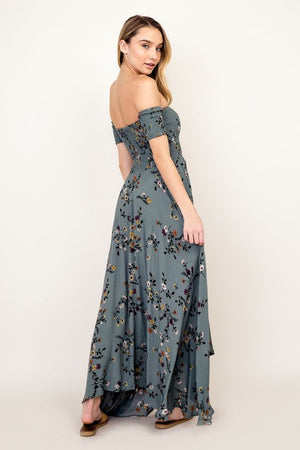 Mila Off the Shoulder Maxi Dress