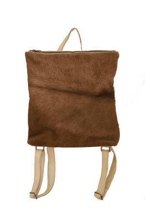 Maya Fur Backpack by Pamala V